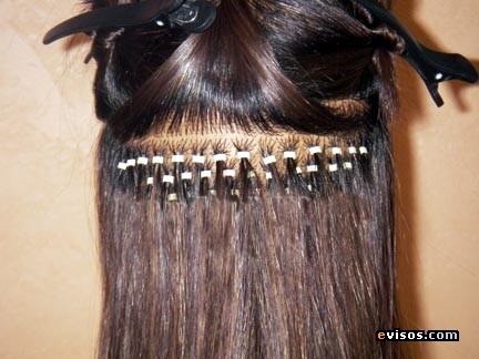 Extensiones y cortinas de cabello natural dias de abril - Extensiones cortina ...