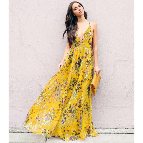 vestido-largo-con-estampado-floral-de-boho